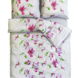 pościel kwiaty magnolia